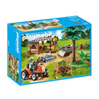 6814-Véhicule De Débardage Avec Bûcheron - Playmobil Country