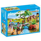 6947-Cavaliers et poneys et cheval - Playmobil Country