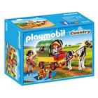 6948-Enfants avec chariot et poneys - Playmobil Country