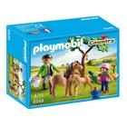 6949- Vétérinaire Avec Enfant Et Poneys - Playmobil Country