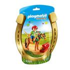 6968-Poney à décorer fleur - Playmobil Country