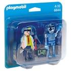 6844-Inventeur et robot - Playmobil City Action