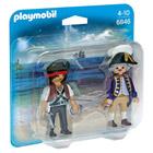 6846-Pirate et soldat royal - Playmobil Les Pirates