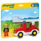 6967-Camion de Pompiers avec échelle - Playmobil 1.2.3