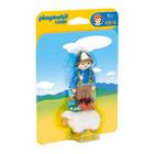 6974-Gardien avec mouton - Playmobil 1.2.3