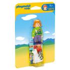 6975-Soigneur avec chat - Playmobil 1.2.3