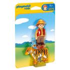 6976-Aventurier avec tigre