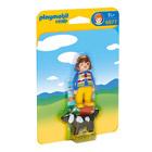 6977-Femme avec chien - Playmobil 1.2.3