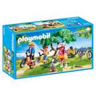 6890-Cyclistes avec vélos et remorque - Playmobil Summer Fun