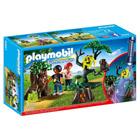 6891-Enfants avec végétation et lampe torche - Playmobil Summer Fun