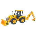 Tractopelle bulldozer