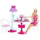 Poupée Barbie et Mobilier Salle à Manger
