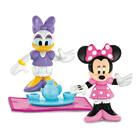 Figurine Minnie et Daisy prennent le thé