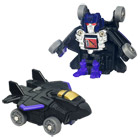 TRANSFORMERS Bot Shots Skywarp
