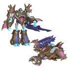 Transformers Prime Voyager Beast Hunter Sharkticon Megatron