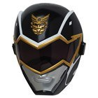 Masque MégaForce Power Rangers Noir