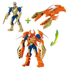 Pack duo Mixx n Morph Power Ranger or et Clawzord