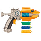 Pistolet Deluxe Slugterra orange avec 3 slugs