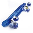 Skate Planche et Roues LED - bleu