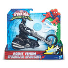 Agent Venom et son véhicule - figurine Spiderman Webcity