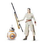Ray Jakku et BB-8 Star Wars figurine Deluxe Black series 15 cm