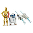 Star Wars pack 2 figurines 10cm R2D2 et C3PO