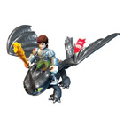 Figurine Dragon et son dresseur Harold H