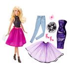 Barbie blonde tenues à combiner