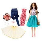 Barbie brune tenues à combiner