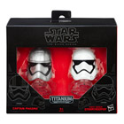 Star Wars Mini Casque Die Cast Black Series Captain Phasma & Stormtrooper