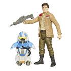 Star Wars figurine Poe Dameron armure 10cm