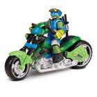 Tortues Ninja Mutation Deluxe véhicule avec figurine Léo 12 cm