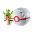 Pokemon throw'n pop pokéball - Honorball avec pokémon plante Marisson