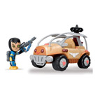 Mutant busters vehicule orange de la resistance + 1 figurine