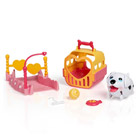 Chubby Puppies Mini Playset - Dalmatien