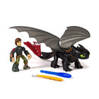 Figurine Dragon et son Dresseur : Hiccup et Toothless
