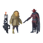 Star Wars pack 2 figurines 10cm : Sidon ithano et First mate quiggold
