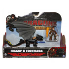 Figurine Dragon et son Dresseur Harold & KrokMou