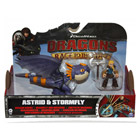 Figurine Dragon et son Dresseur Astrid & Stormfly