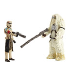 Star Wars Pack deluxe 2 figurines Moroff & Scarif Stormtrooper