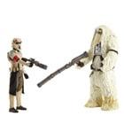 Star Wars Pack deluxe 2 figurines Moroff & Scarif Stormtrooper