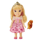 Poupée Princesse Disney 15cm Petite Aurore et l'écureuil