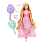 Barbie chevelure 3 en 1 rose blonde