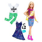 Barbie fashionistas et tenues  35 Peace & Love Doll & Fashions Original