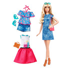Barbie fashionistas et tenues 43 Lacey Blue Doll & Fashion-Tall