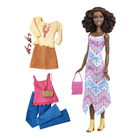 Barbie fashionistas et tenues 45 Boho Fringe Doll & Fashions-Tall