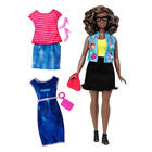 Barbie fashionistas et tenues 39 Emoji Fun Doll & Fashions Curvy