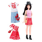 Barbie fashionistas et tenues 40 Pizza Pizzazz Doll & Fashions Petite