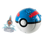 Pokemon throw'n pop pokéball - Super ball avec pokémon Motisma