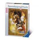 Puzzle 1000 pièces Jeune africaine